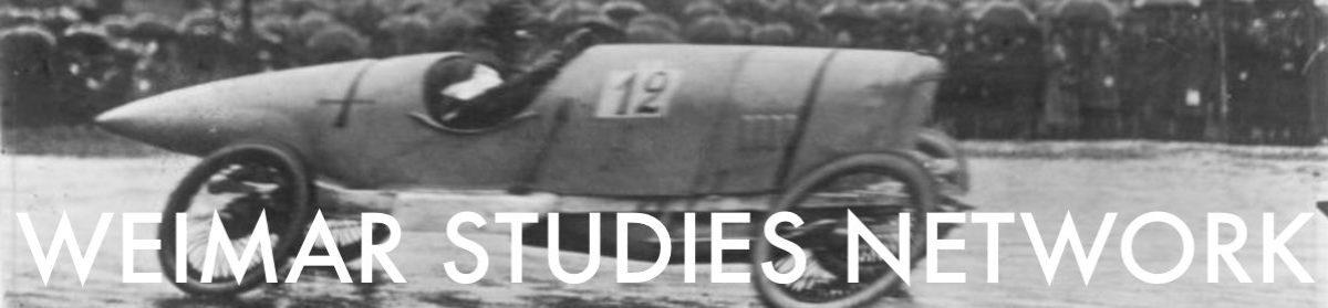 Weimar Studies Network